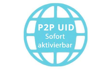 Neue P2P UID