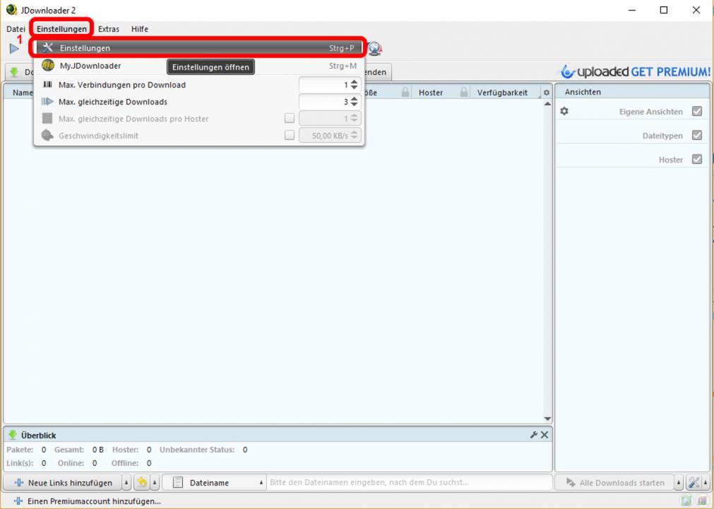 Jdownloader2 Inhalt Der Micro Sd Karte Auf Den Pc Laden