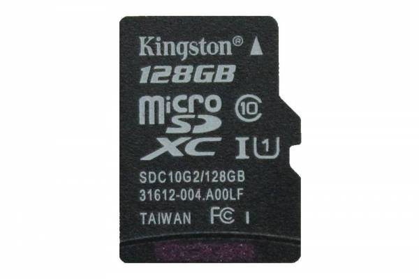VORBESTELLUNG: Kingston 128GB Micro-SD-Karte