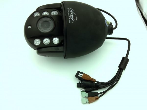 Gebrauchtware upCam Hurricane HD PRO (schwarz) all-in-one Überwachungskamera