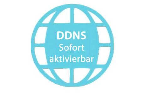 Native DDNS-Adresse (zufällige Subdomain, sofort aktivierbar)