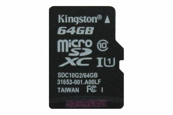Kingston 64GB Micro-SD-Karte