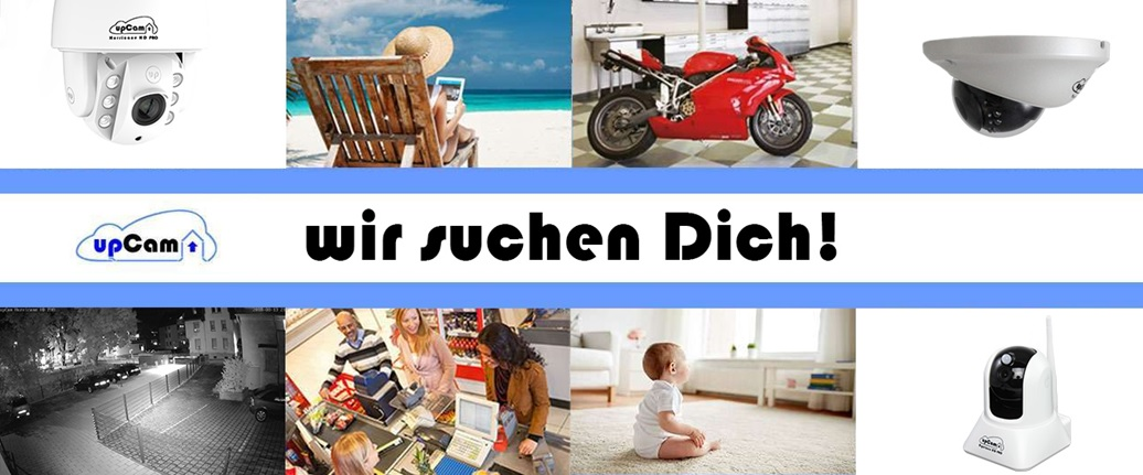 upCam sucht Dich!