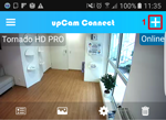 upcam Connect step1